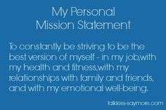 Personal Mission Statement Examples For Students Personal Mission Statement Examples Mission Statement Examples Mission Statement