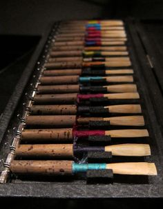 """reeds...the worst part of oboe playing"" YEP PRETTY MUCH :/    ~I want the purple one."