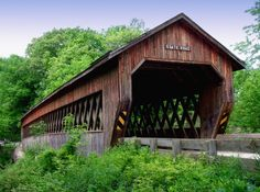This 157-foot long bridge in Monroe Township is currently one of 16 drivable bridges in Ashtabula County.