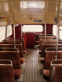 Upstairs on a double decker London bus 1970s Childhood, My Childhood Memories, Childhood Toys, London Bus, Old London, Vintage London, Routemaster, London History, Double Decker Bus