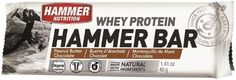Hammer Nutrition Whey Protein Bar Flavor Peanut Butter-Chocolate 12 count Bar