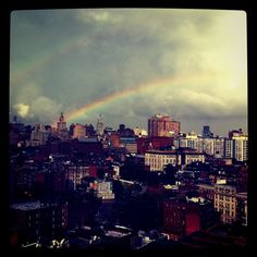 Double Rainbow in the West Village