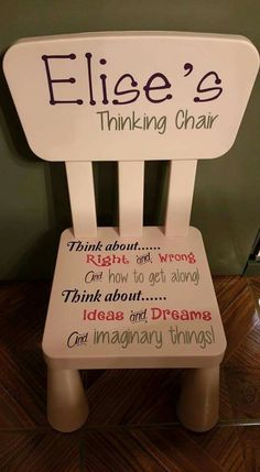 Thinking chair More