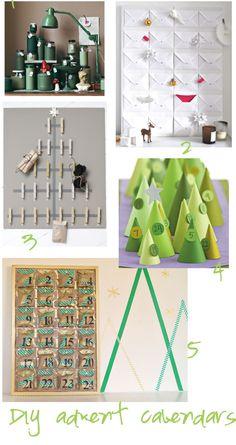 Love the green christmas tree idea!!