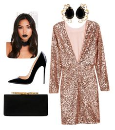 """""""Untitled #5"""" by alonafrolova00 on Polyvore featuring H&M, Jimmy Choo and Bounkit"""