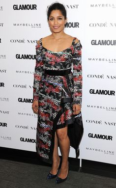 Freida Pinto, Yara Shahidi & Ashley Graham Team up for 'Glamour's The Girl Project! Freida Pinto, Glamour Magazine, Hollywood Fashion, Night Looks, Red Carpet Dresses, Red Carpet Fashion, Looking Stunning, Looking For Women, Dress Skirt