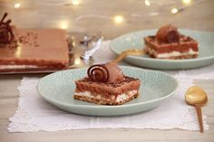 Tiramisu, Mousse, Ethnic Recipes, Kitchen Ideas, Food, Cakes, Chocolate Mix, Christmas Recipes, Crack Cake
