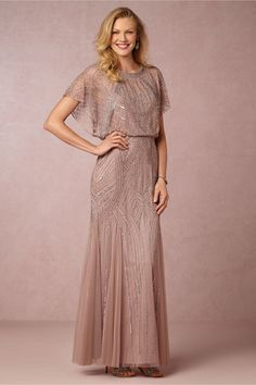 Beaded mother of the bride gown Claudia Dress BHLDN