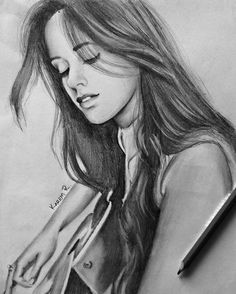 """""""and I know I like to draw at night; it starts to get surreal but the less time that I spend with yu, the less you need to heal @camila_cabello"""""""