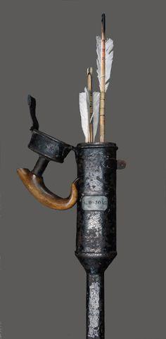 Canne-carquois - fin XIXème S.- Collection D. Traube