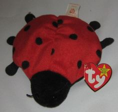 LUCKY THE LADY BUG - Ty Beanie Baby (Beanies, Babies)