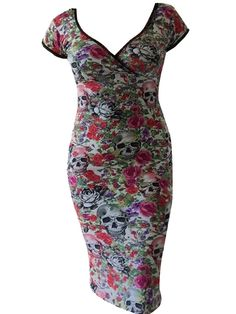 "Women's ""Death"" Annabella Dress by Switchblade Stiletto (Multi)"