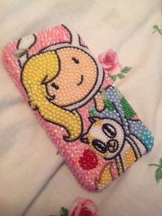 Fionna and Cake from Adventure Time :) New Case for iPhone 4!