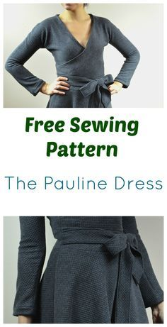 FREE SEWING PATTERN: Pauline Dress
