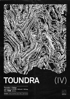 """vikautofocus: """" Poster for Toundra + Galgo autofocus, 2015. """""""