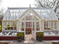 www.pinterest.com Greenhouses - Zoe St Pierre. Greenhouses with central lobby.