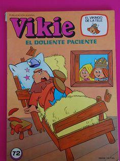 Vintage Vikie comic / Tebeo Vikie el vikingo   by misstaito