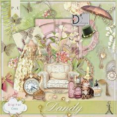 Dandy by DOUDOU'S DESIGN @ Scrap Digital-Crea http://digital-crea.fr/shop/doudou-s-design-c-155_164/dandy-p-16269.html