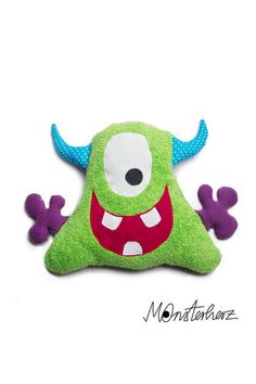 Monster Co, Felt Monster, Monster Dolls, Sewing For Kids, Baby Sewing, Sewing Crafts, Sewing Projects, Ugly Dolls, Sock Dolls