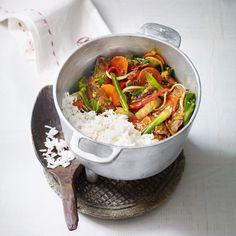 Asia-Entenbrust mit Gemüse