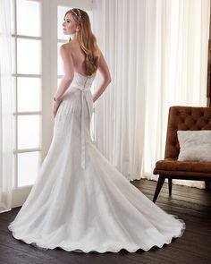 Astra Bridal Bonny Classic A Line style wedding dress
