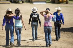 """I want the jeans that """"Megan"""" wears in the show  The cast - The Women of Rodeo Girls Pictures - Rodeo Girls - A&E"""