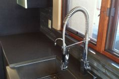 Kitchen Renovation by Hoganwerks Interior Renovations of Snowmass, Colorado Stainless Farmhouse Sink