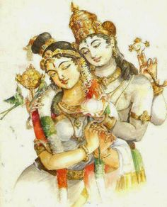 thiruppavai - andal and krishna