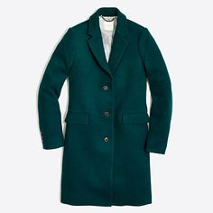Crew Factory for the Wool topcoat for Women. Find the best selection of Women Outerwear available in-stores and online. Outfits 2016, Kids Outfits, Discount Mens Clothing, J Crew Style, Winter Looks, Topcoat, Winter Wardrobe, Wool Coat, Clothes For Women