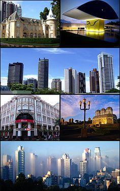 aí está, a cidade mais linda do Brasil, Curitiba!