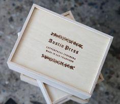 Austin Press Flashcard Box… awesome blossom