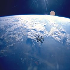 International Space Station in Orbit |