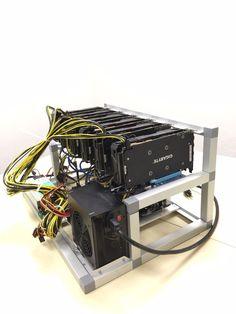 Merchandise specifics Mining : GPU Energy Use (W): 1200 Hash Algorithm: Skein, Ethash, Cryptonight, Equihash, Sia, Blake-256, Dagger-Hashimoto (Ethereum), Scrypt, SHA-256, SHA-256d, X11 ... - #Bitcoin, #BitcoinMiner, #BITCOINMININGCONTRACT