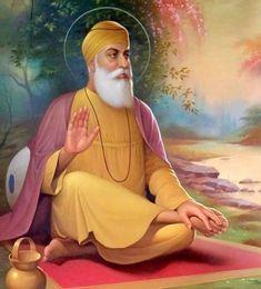 Guru Nanak Pics, Guru Nanak Photo, Guru Pics, Sikhism Beliefs, Sikhism Religion, Founder Of Sikhism, All God Images, Baba Deep Singh Ji, Guru Nanak Wallpaper