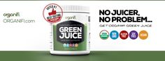 Buy Organifi Green Juice SuperFoods - The Awesome Suite of PH Fxing Transformation Detox Drinks!