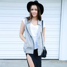 Mia from The Perfect Perspective.. rocking our vest http://www.theperfectperspective.com.au/