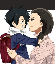 A normal mother and son All Anime, Otaku Anime, Anime Manga, Anime Guys, Anime Child, Anime Art Girl, Anime Films, Anime Characters, Cute Anime Wallpaper