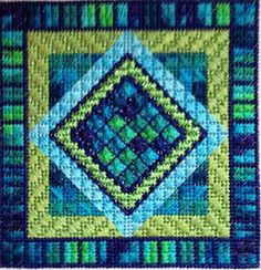 Love the color combination, a future quilt color maybe! Needle Delights Originals