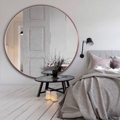 (notitle) - Home sweet Home - Bedroom Home Bedroom, Bedroom Decor, Big Mirror In Bedroom, Bedroom Ideas, Beautiful Bedrooms, Interiores Design, Home Decor Inspiration, Interior Design Living Room, House Design