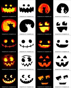 Free Printable Halloween Pumpkin Carving Stencils, Patterns, Designs, Faces & Ideas Source by Minion Pumpkin Carving, Scary Pumpkin Carving Patterns, Awesome Pumpkin Carvings, Halloween Pumpkin Carving Stencils, Disney Pumpkin Carving, Halloween Pumpkin Designs, Scary Halloween Pumpkins, Easy Pumpkin Carving, Theme Halloween