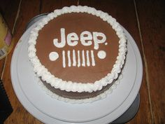 My hubby turned 35 and last year I made him a cake that was a simple chocolate cake with chocolate frosting that said 'Happy Belated Birthda. Birthday Cake For Men Easy, 12th Birthday Cake, Birthday Cake Card, Birthday Ideas, Birthday Parties, Jeep Cake, Taco Cake, Tasty Chocolate Cake, Strawberry Cakes