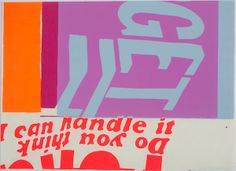 Corita Kent 'I can handle it'
