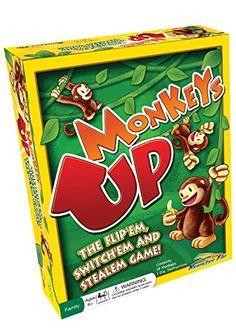 Monkeys Up Family Board Game - Educational Fun for All Ag...   #Christmas #gifts Click view to get more information or how to purchase.