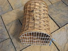 #Vintage #wicker cat #basket,  View more on the LINK: http://www.zeppy.io/product/gb/2/201640624807/