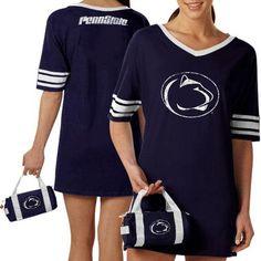 Penn State Nittany Lions Ladies Navy Blue Nightgown & Mini Duffel Bag - $34.99