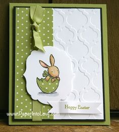 Stampin' Up Happy Easter Everybunny Card