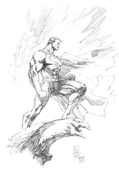 Superman by Mark Silvestri, in Matthew P's Marc Silvestri Comic Art Gallery Room Jim Lee Superman, Jim Lee Art, Strange Adventure, Wonder Woman Comic, Dc Comics Art, Nerd Love, Art Archive, Art Pages, Comic Artist