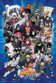Naruto - Characters Poster 24in x 36in
