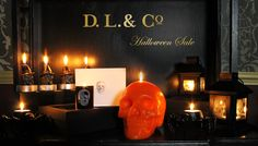 Get ready for the season with Halloween Candles & Decor. Shop for unique, one-of-a-kind items in our Halloween Collection Section over 50 items currently on sale.   http://www.dlcompany.com/Halloween-Collection_c_61.html