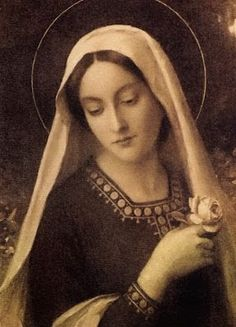 """Martin was completely devoted to Our Lady: """"Mary is the highest woman and the noblest gem in Christianity after Christ … She is nobility, wisdom, and holiness personified. We we can never honor her. Catholic Art, Catholic Saints, Religious Art, Roman Catholic, Blessed Mother Mary, Blessed Virgin Mary, Hail Holy Queen, Jesus E Maria, Verge"""
